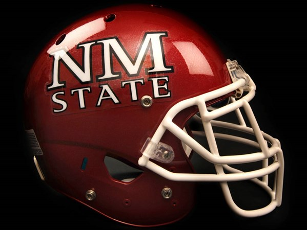 Nm State Football To Wear Redesigned Helmet In 2009 New Mexico