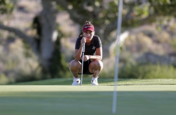 NM State Ladies's Golf Closes Out Play at Dick McGuire Invitational – New Mexico State College Athletics